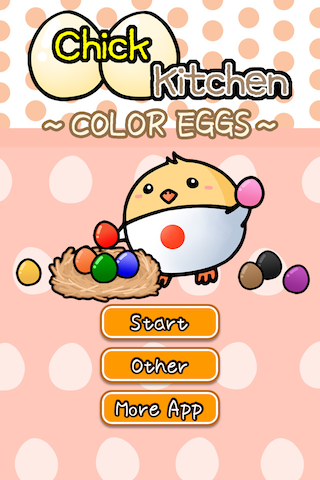 Chick Kitchen ~Color Eggs~