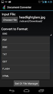 The File Converter - screenshot thumbnail