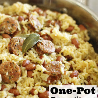 Brazilian Beans and Rice with Sausage