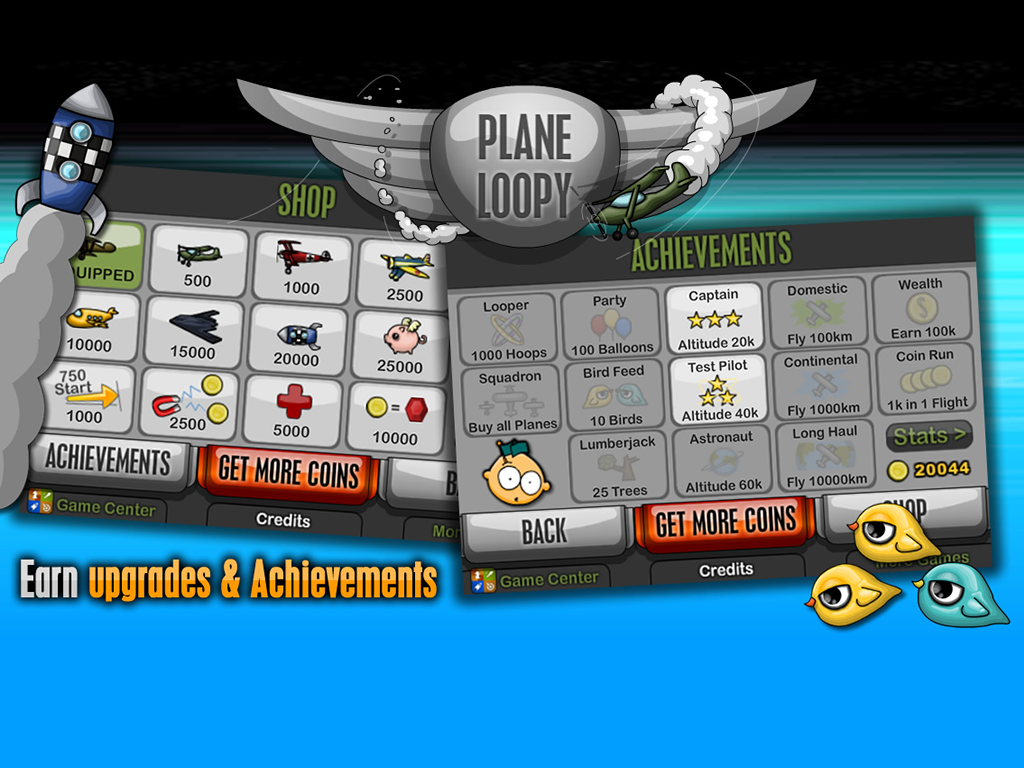 Plane Loopy - screenshot