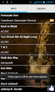 Greatest Rock Riffs - screenshot thumbnail