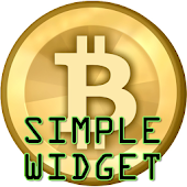 Simple btc widget - bitcoin