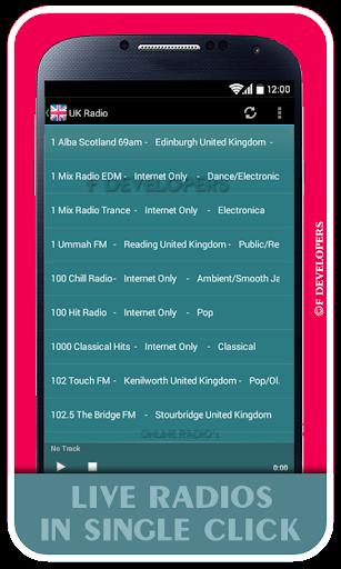 UK Radio - Live Radios