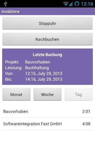 【免費商業App】mobitime – Zeiterfassung-APP點子