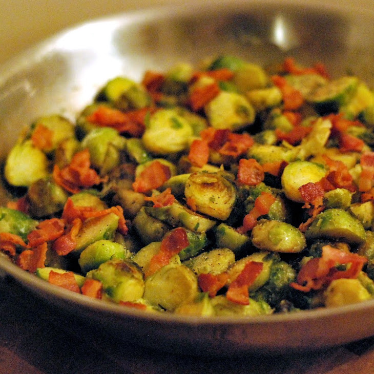Brussels Sprouts with Bacon & Apple Cider Vinegar