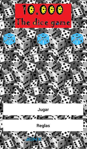 10000 juego de dados