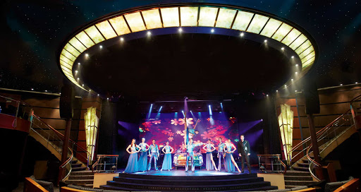 Regent-Seven-Seas-Navigator-Theater-show - The live theater shows aboard Seven Seas Navigator will keep you entertained throughout your voyage.