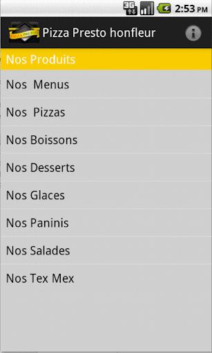 Pizza Presto Honfleur