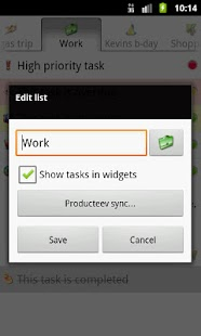 Task List - To Do List - screenshot thumbnail