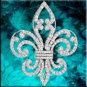 Diamond Fleur de Lis icon