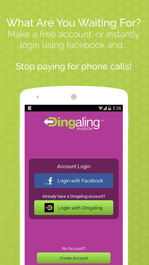 Dingaling- Best Free Calls - screenshot