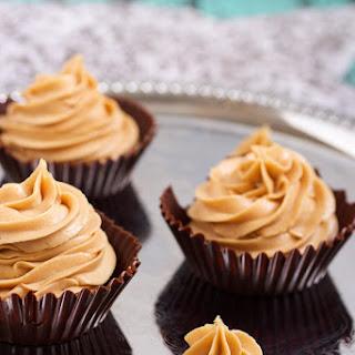Dark Chocolate Peanut Butter Mousse Cups