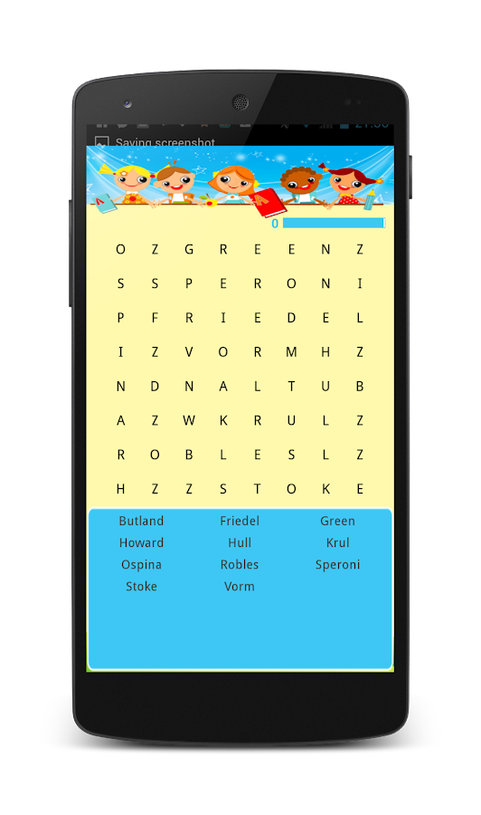 Word-search-KIDS 5
