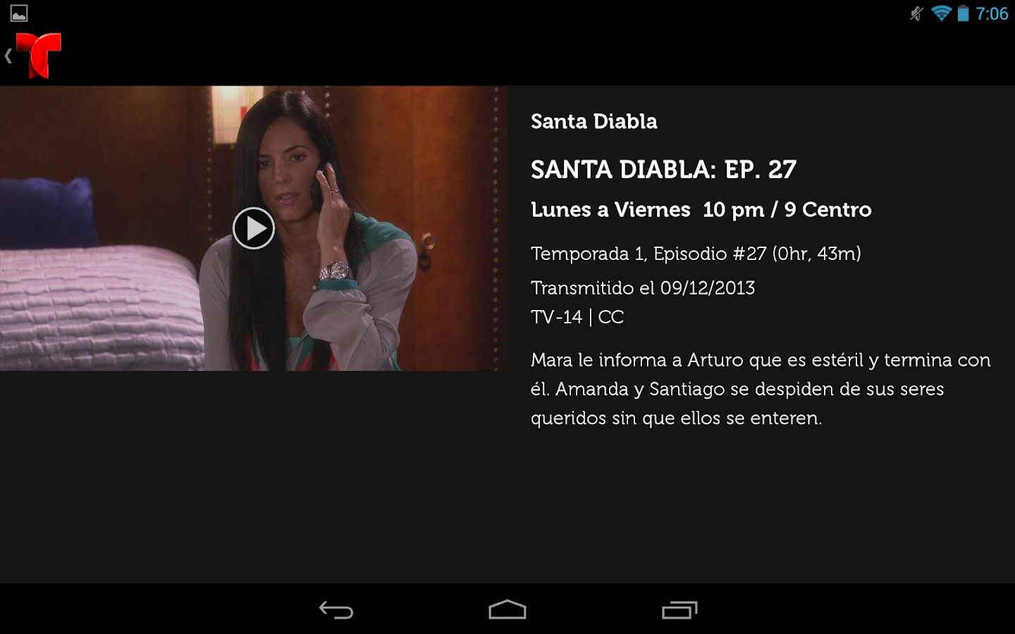 Telemundo Now - screenshot