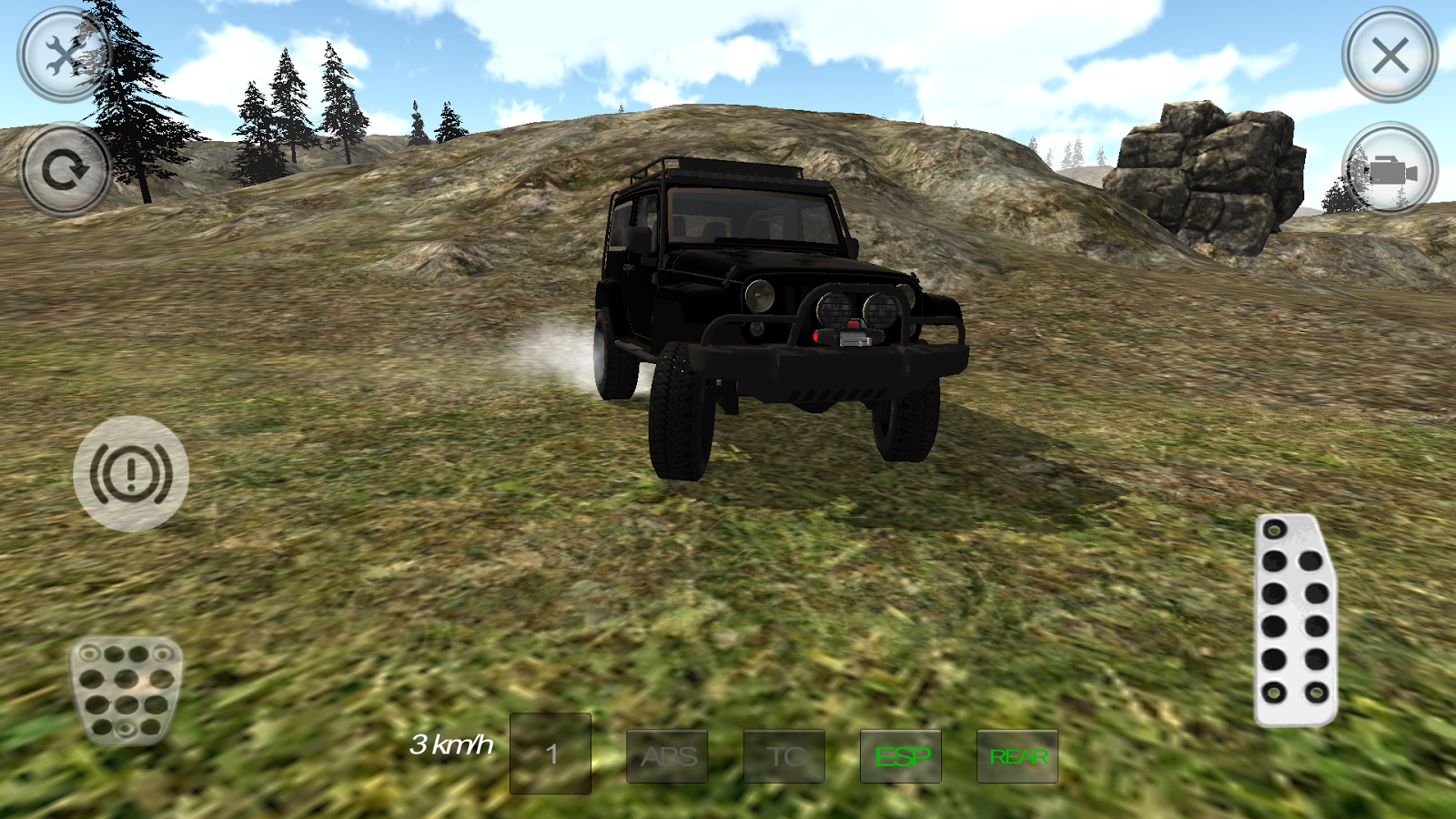 Hill Racer Offroad 4x4- screenshot