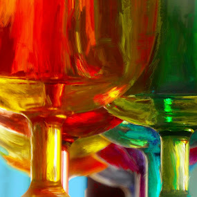 plastiglass by John Kolenberg - Artistic Objects Glass ( plastic, color, art, glassware, glass, photo art )