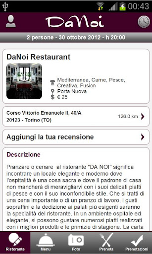 DaNoi Restaurant