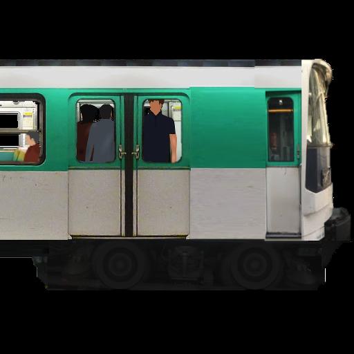 パリの地下鉄のシミュレーター 模擬 LOGO-玩APPs