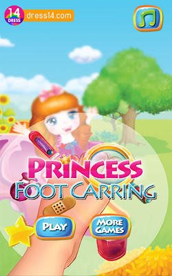 Princess Foot Caring - screenshot