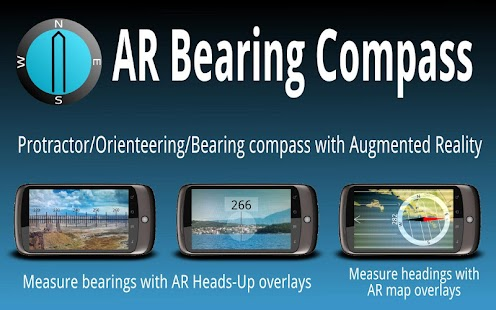 AR Bearing + Baseplate Compass - screenshot thumbnail