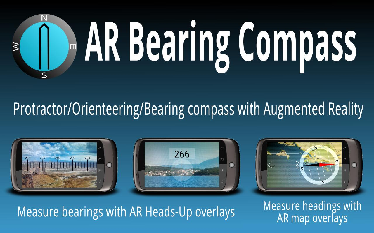 AR Bearing + Baseplate Compass - screenshot