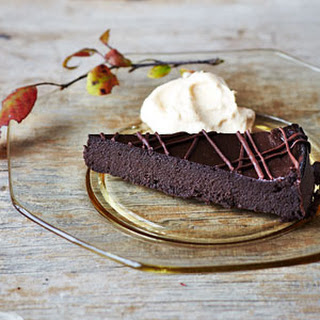 Pumpkin-Chocolate Torte with Pumpkin Whipped Cream