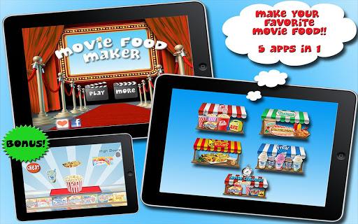 Movie Food Maker 5 Apps in 1