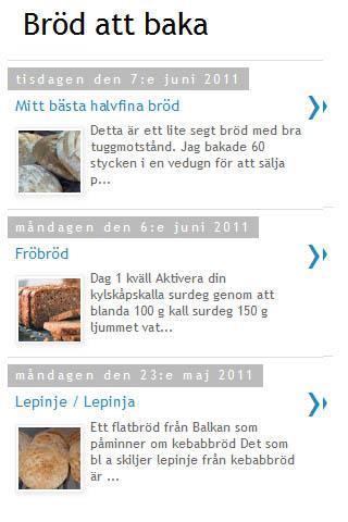 Bröd att baka på jäst o surdeg- screenshot