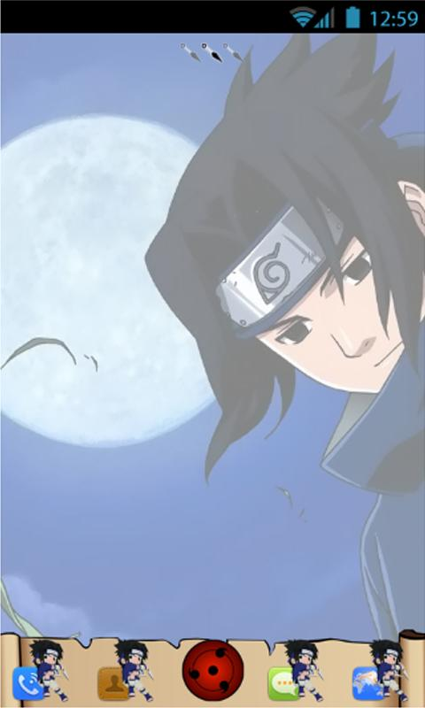 Sasuke Go Launcher Theme - screenshot
