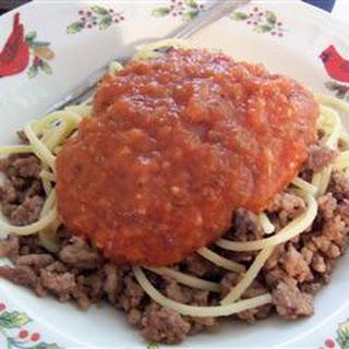Basic Spicy Tomato Sauce