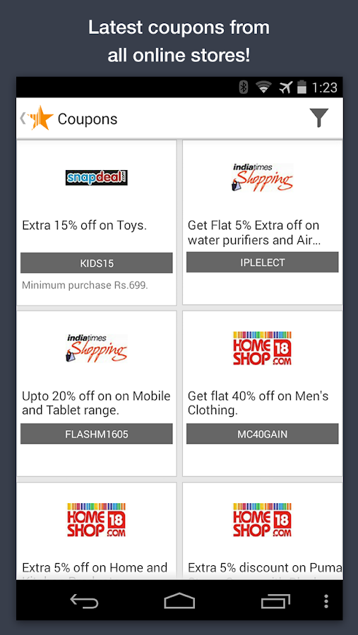 Compare Prices, Online & Local - screenshot
