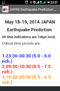 Earthquake Prediction screenshot 8