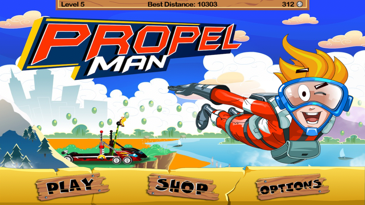 Propel Man- screenshot