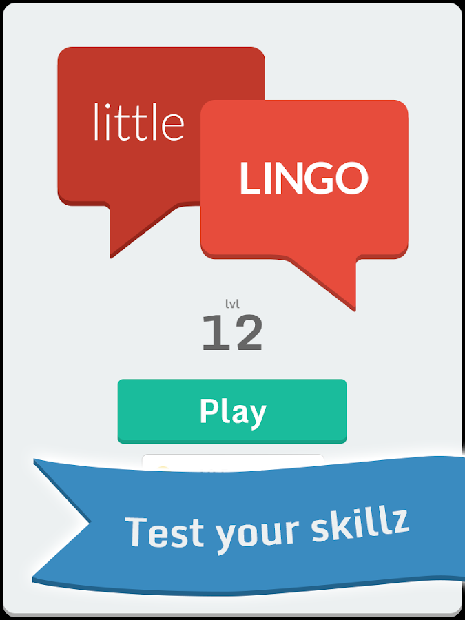 Little Lingo - Txt Quiz Game - screenshot