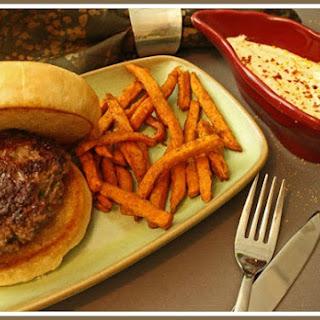 Silver Spur Ranch Blue Cheese Burgers.