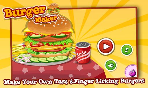 汉堡制造商 — — 孩子做饭