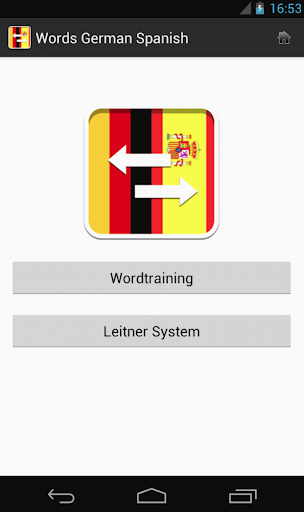 Words German Spanish