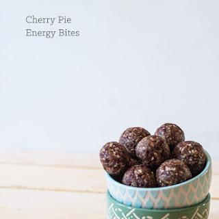 Cherry Pie Energy Bites