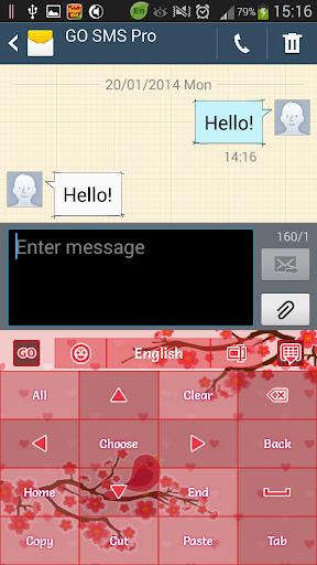 玩免費個人化APP|下載Pink Cherry Keyboard app不用錢|硬是要APP