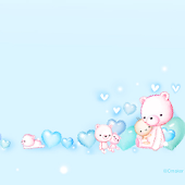 CUKI Theme BabyBear Wallpaper