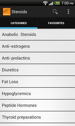 Steroids App