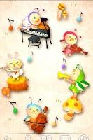 Screenshot of Autumn Musical Band LWP