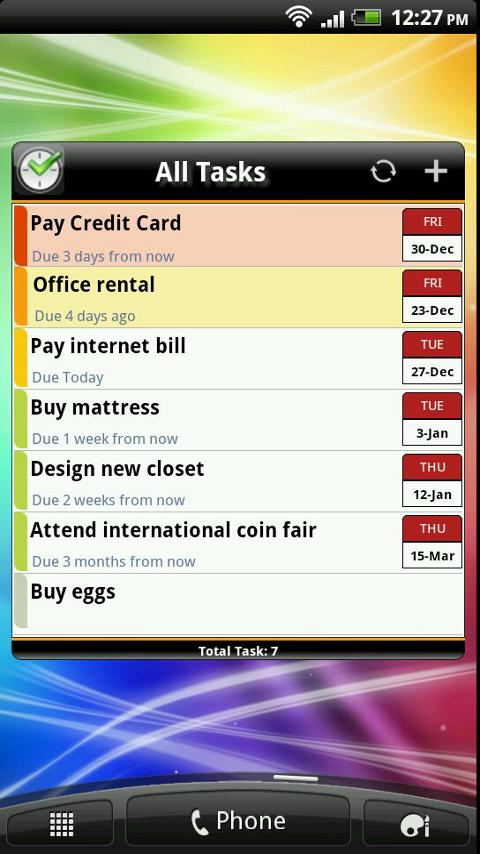 TNT Pro To-Do List | Task List - screenshot