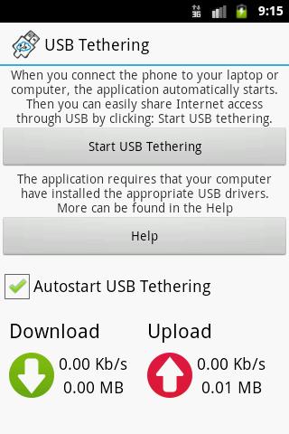 【免費通訊App】USB Tethering-APP點子