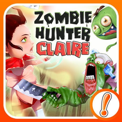 Zombie Hunter Claire LOGO-APP點子