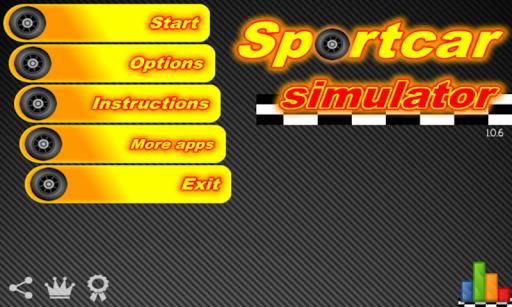 Sport Car Simulator full