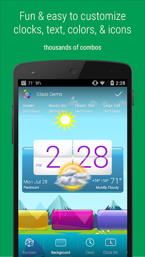 HD Widgets  screenshots 1