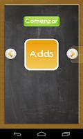 Screenshot of Aprender sumar restar - niños