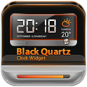BlackQuartz Clock Widget icon