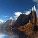 Snowy Mountain Lake Live Wallp